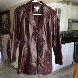 BEBE leather jacket size S perfect condition